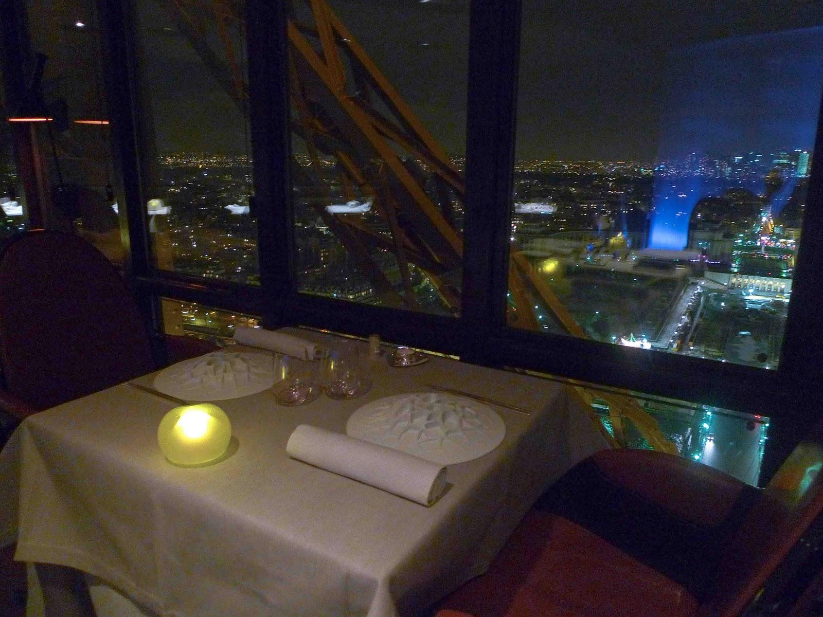 restaurant jules verne paris