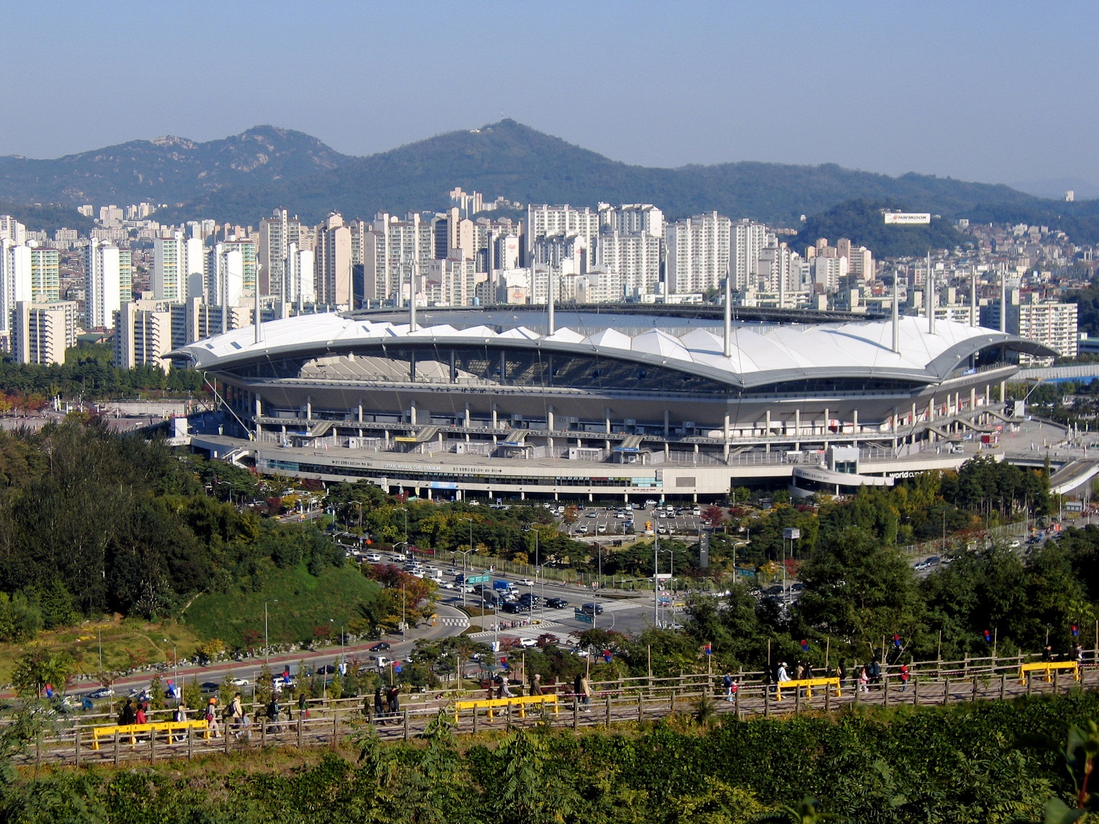 South Korea, Seoul, World Cup Stadium