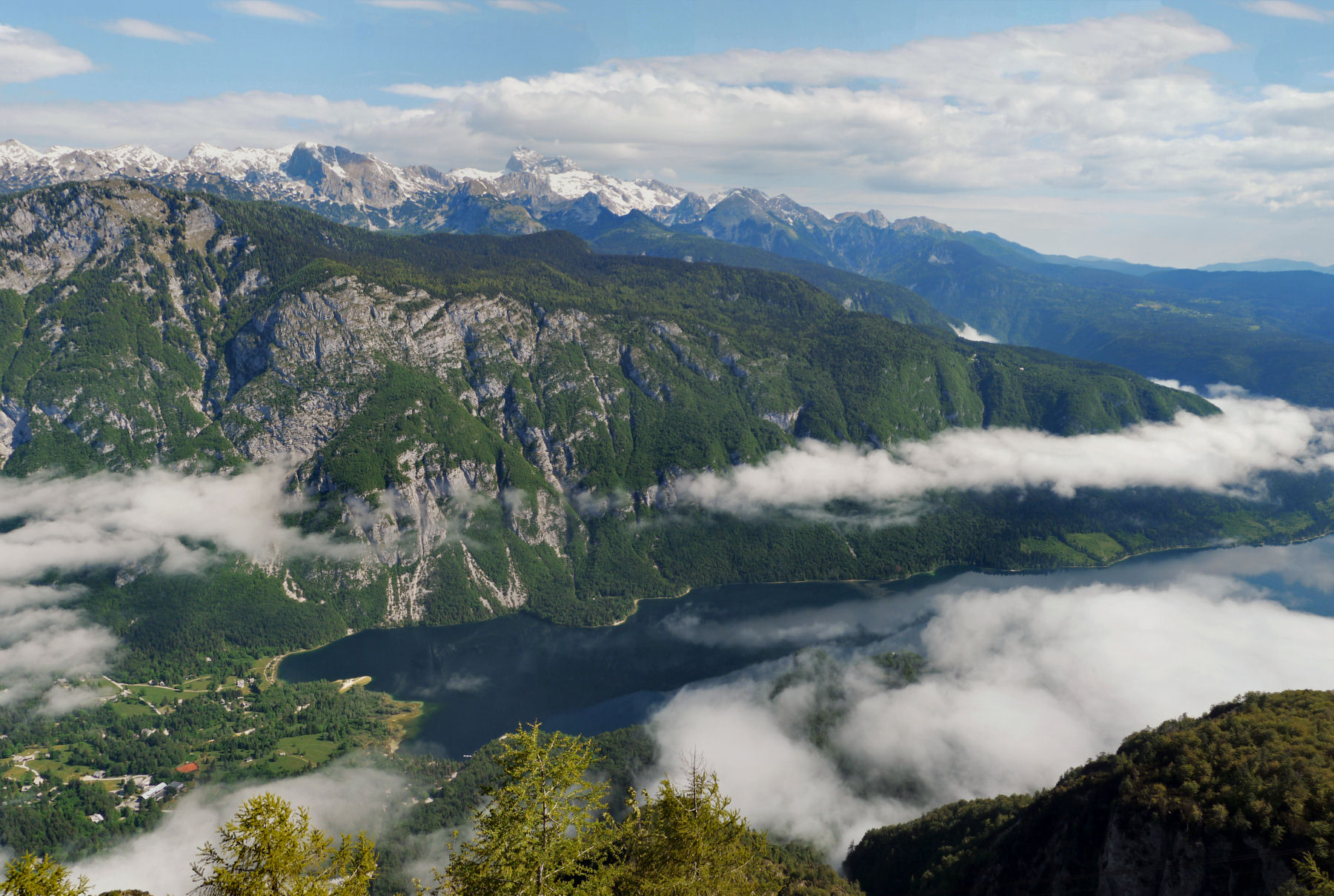 Stunning Places Holiday, Slovenia, Triglav National Park, Aerial view