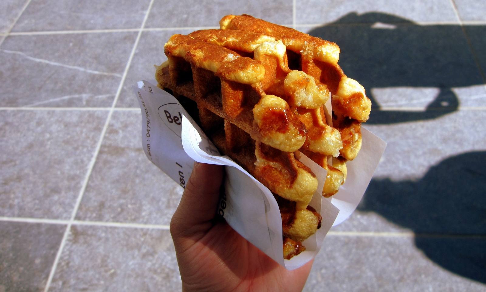 Sweetest Sights, Brussels, Belgium, Belgian Waffles with honey