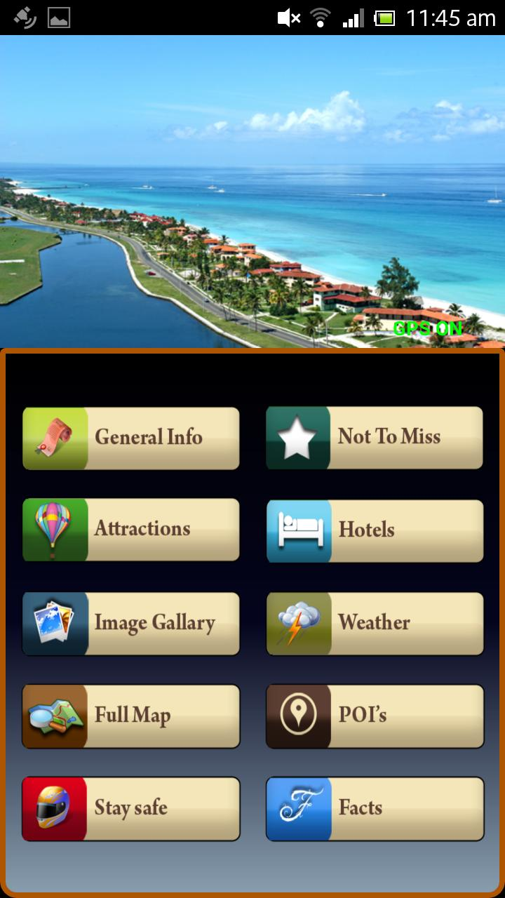 Tech Holiday, Mobile Application for travel general
