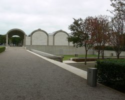 Texas, U.S.A, Kimbell Art Museum, Outside view
