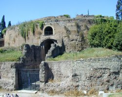 Rome, Italy, Mausoleum of Augustus, Outside view