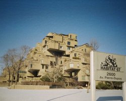 Montreal, Canada, Habitat 67, Winter season
