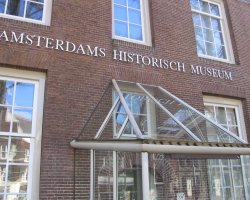Amsterdam, The Netherlands, Amsterdam historical museum, Enterance