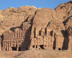Petra, Jordan, The Palace Tomb and The Corinthian Tomb