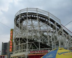 New York, U.S.A., Coney Island Cyclone