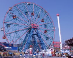 New York, U.S.A., Coney Island Wonder Wheel