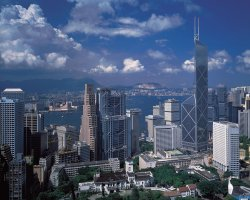 Hong Kong, China, Bank of China Tower overview