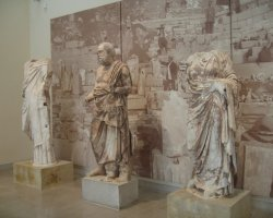 Greece, Europe, Statues from museum of Delphi