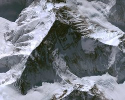 Nepal, Asia, High Resolution Aerial View of Everest