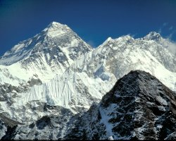 Nepal, Asia, Mount Everest the top of Gokyo Ri
