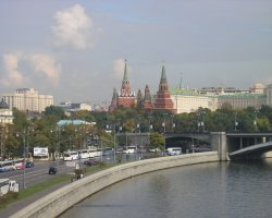 Moscow, Russia, Kremlin overview