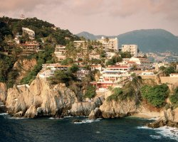 Acapulco, Mexico, La Quebrada Cliff overview