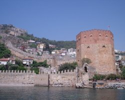 Alanya, Turkey, Red Tower
