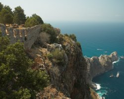 Alanya, Turkey, Sea view from top