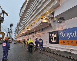 Allure of the Seas, Departs the shipyard