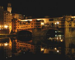 Amazing Holiday, Florence, Italy, Ponte Vecchio night view