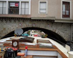 Amazing Holiday, Narbonne, France, Pont des Marchands close view