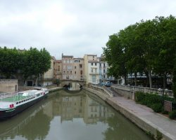 Amazing Holiday, Narbonne, France, Pont des Marchands overview