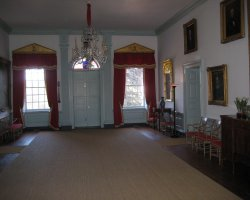 Hampton Mansion, Maryland, USA, Inside view