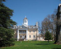Hampton Mansion, Maryland, USA, Front view