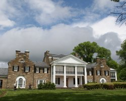 Glenview Mansion, Maryland, USA, Front view