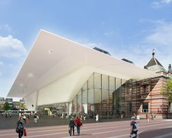 Museum Holiday, Stedelijk Museum, Amsterdam, The Netherlands, Exterior view