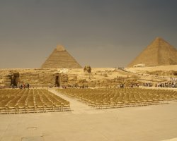 Ancient Holiday, Egypt, Kefren Pyramid front view