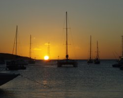 Road Bay, Anguilla, America, Sunset