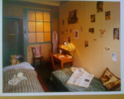 Anne Frank Museum, Amsterdam, Old picture of the room