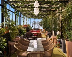 Art Hotels Holiday, New York, USA, Gramercy Park Hotel terrace