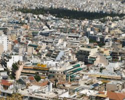 Athens, Greece, City rooftops