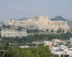 Athens, Greece, Acropolis panorama