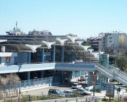 Athens, Greece, Metro Faliro station