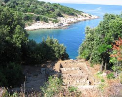 Arhaia Stageira, Greece, Archaeological sites