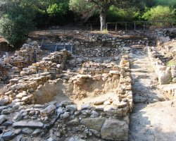 Arhaia Stageira, Greece, Archaeological sites overview
