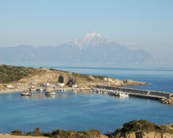 Sithonia, Greece, Harbour