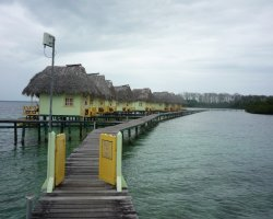 Attractive Floating Hotels, Panama, Punta Caracol side view