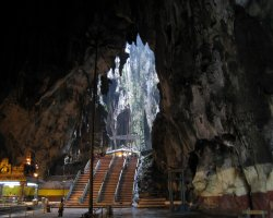 Trend Destination Holiday, Batu Cave, Malaysia, Asia, Cave interior view