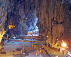 Trend Destination Holiday, Batu Cave, Malaysia, Asia, Cave interior overview