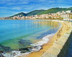 Trend Destination Holiday, Corsica, France, Ajaccio seafront