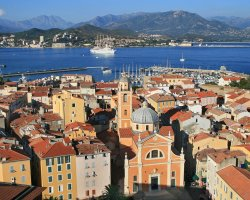 Trend Destination Holiday, Corsica, France, Ajaccio city overview