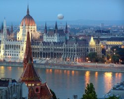 Autumn Holiday, Budapest, Hungary, Parliament