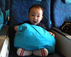 Baby in the Airplane, Baby pillow