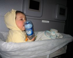 Baby in the Airplane, Baby seat special