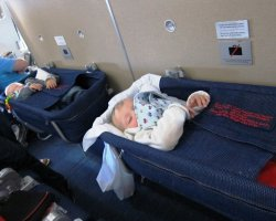 Baby in the Airplane, Baby seats special