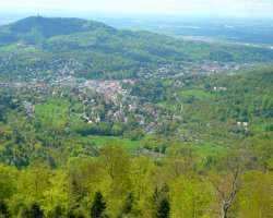 Germany Holiday, Baden-Baden, Germany, City panorama