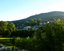 Germany Holiday, Baden-Baden, Germany, Panorama