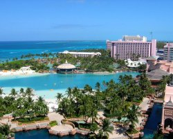 Bahamas, America, Paradise resort overview